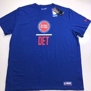 Under Armour NBA Detroit Pistons T Shirt Size 3XL